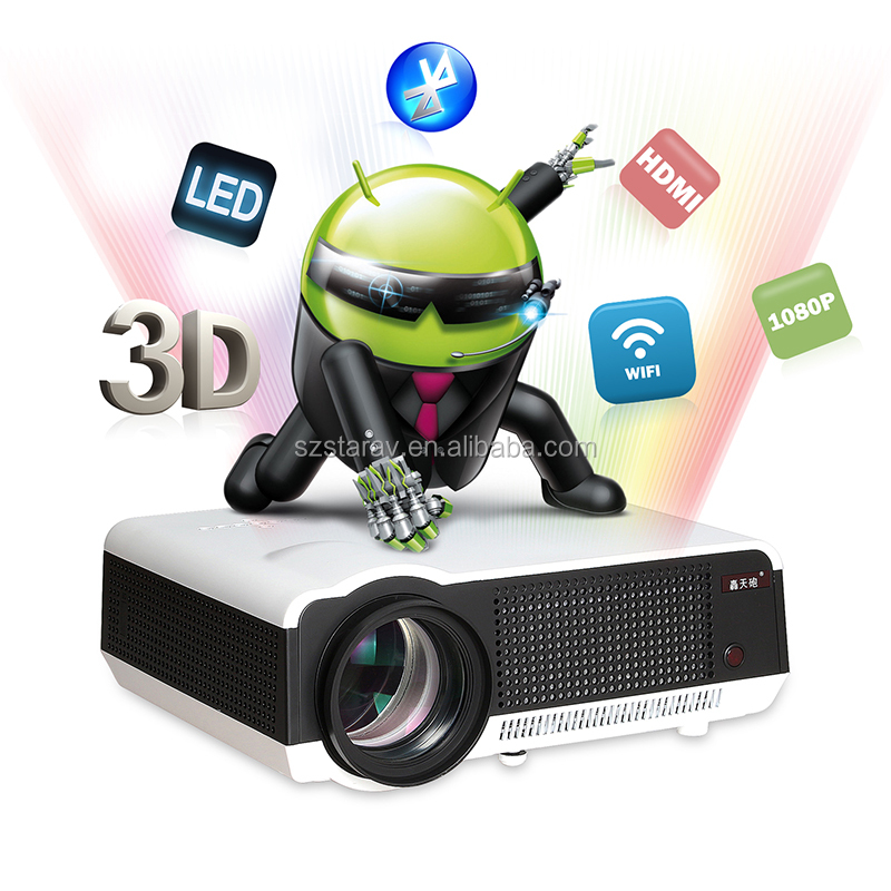 LED86 LCD Business Projector 1280*800 Multimedia Meeting Theater Home Cinema HD Projetor Video Proyector Beamer led projector