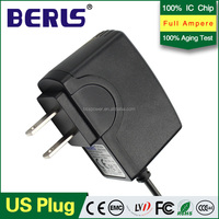 2016 new ac/dc 5v1a power adapter AC 100-240V power adapter 5A1000MA With US&EU style