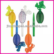 promotional cord pen hanging ball pen
