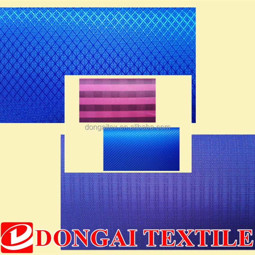 100% polyester mini jacquard Oxford fabric material for laundry bag
