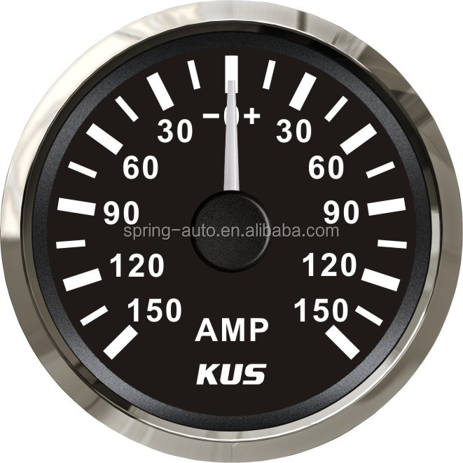 Induction Amp Meter Pick Up : Mm ammeter amp gauge with current pick up unit a