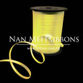 Pine Apple color Curling Ribbon for balloon use