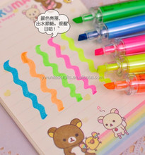 Wholesale translucent syring highlighter pen/injection shaped pen