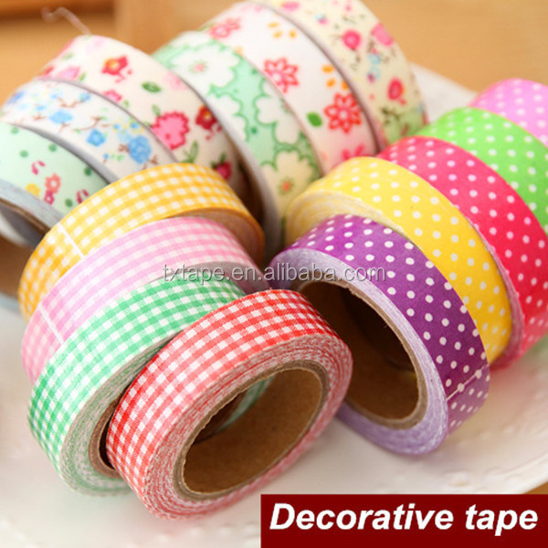 Different Types For Good Quality Supermarket Decorative Tape