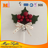 Fashion Fabric Plastic Christmas Cake Decoration