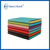 Customize Plastic Notebook Cover With Color Edge