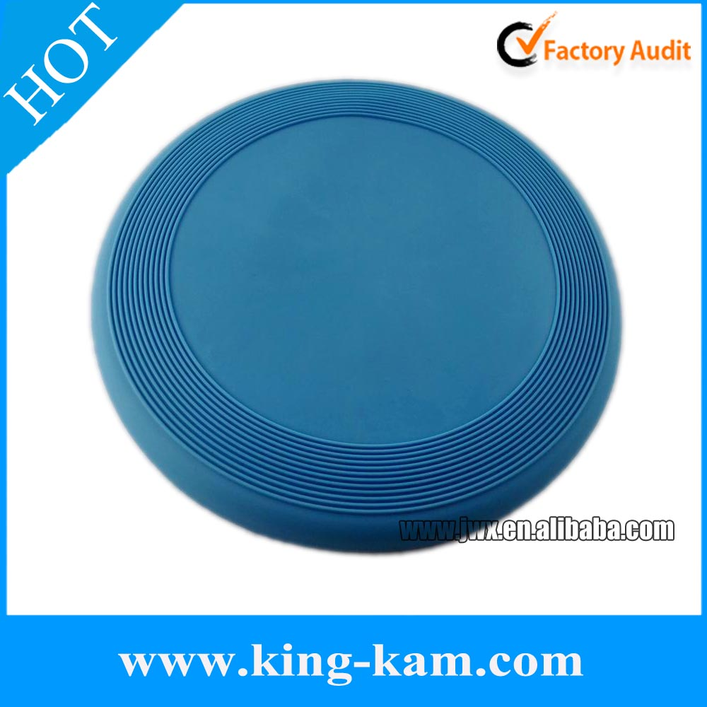 23cm Silicone dog frisbee for pet toy , pet frisbee printed logo, soft flyer frisbee