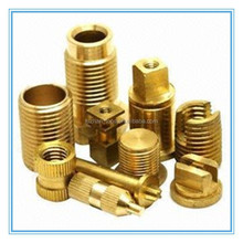Brass fitting adapter cnc machining parts