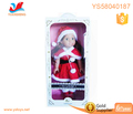 18 inch beautiful lovely baby doll dressed up as Santa dress christmas dress girl doll