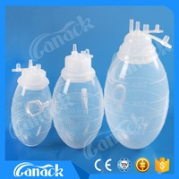 High quality suction wound drainage system Silicone Surgical Reservoir