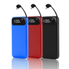 iMato 10000mAh Built In Cable Mobile Power Bank for Huawei Samsung iPhone