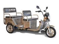 2016 version 800W adult electric rickshaw/electric passenger tricycle/battery operated carrier supply