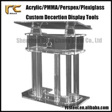 Custom Acrylic Lectern for Business RCAC28