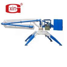 China hot sell HGY15 spider mobile concrete placing boom concrete distributor for sale