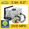 "best quality wholesale dvd 2 din 6.2"" factory price"