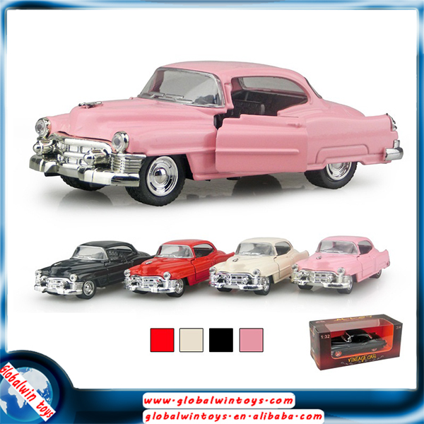 Die cast miniature Aolly mini car model toys with Colorful Led Lights