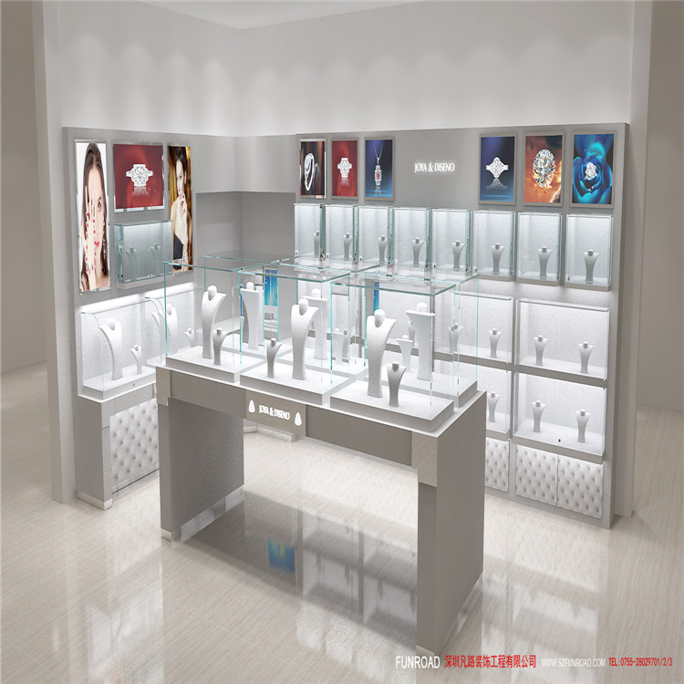 Unique interior design ideas for jewellery shops