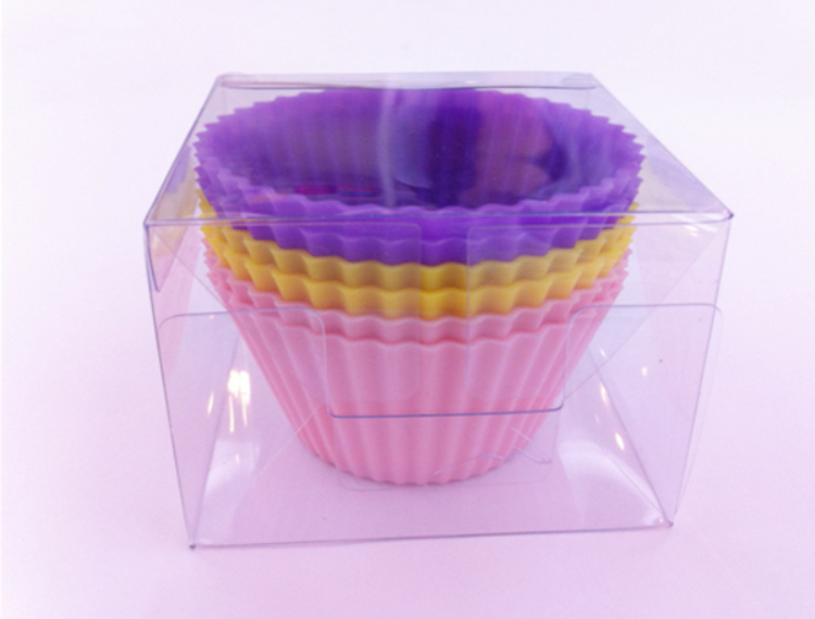 Hot Sale Nice Baking product Colorful BPA Free Silicone cupcake forms