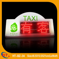 HT led taxi top light with hooks