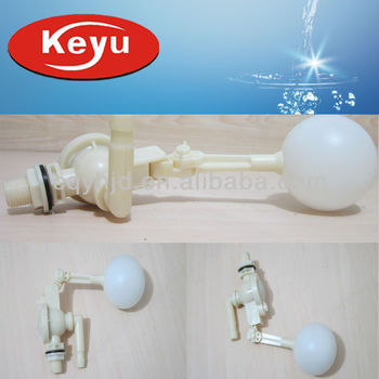 Keyu Float Valve With Long Water Outlet For Pipe Fitting