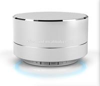 2017 Best selling LED light audio portable wireless mini A10 bluetooth speaker