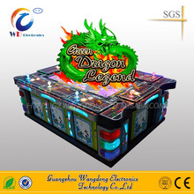 High return fish hunter game Green dragon Legend fishing arcade game machine/ocean king software upgrade