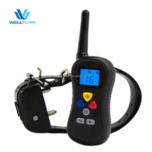 Pet Training Electronic Dog Shock Collar Supplier Hot Sell Remote Pet Dog Electric Training Vibrate Shock Control Distance Colla