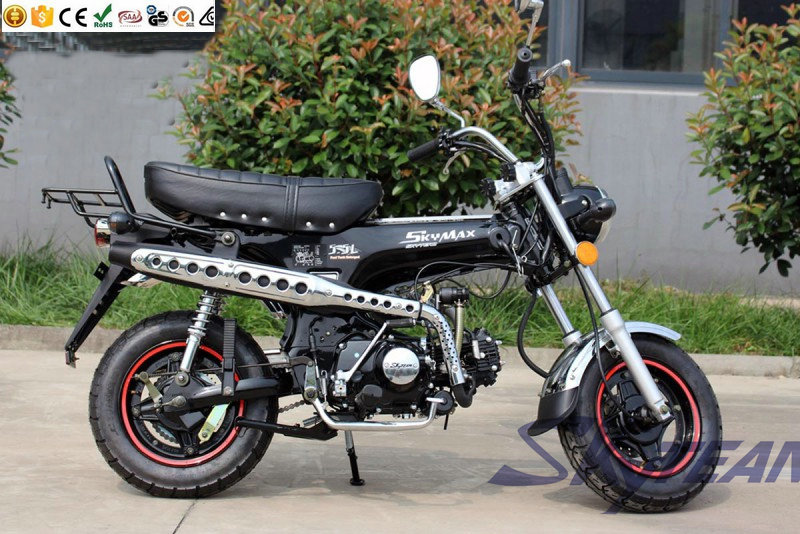 SKYTEAM 50cc and 125cc 4 stroke dax SKYMAX motorcycle(EEC APPROVAL) with NEW 5.5L BIG FUEL TANK