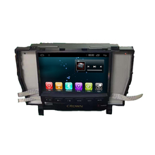 Touch screen android 6.0 car stereo player car DVD with gps navigation system and bluetooth for TOYOT CROWN 2012