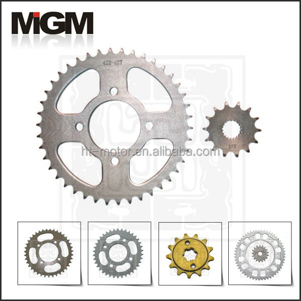 Motorcycle sprocket for suzuki sprockets GN125