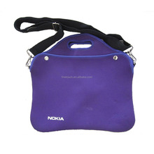 Factory direct-sale neoprene laptop sleeve with shoulder strap