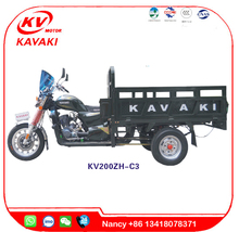 KAVAKI MOTOR Sale MTR disc brake three wheel cargo motorcycle tricycle