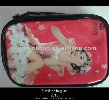 2013 hot selling Makeup bag with printing