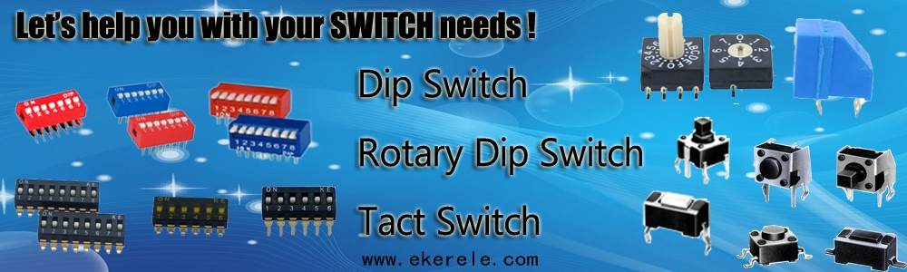 12V Various Led Color Illuminated Tact Switch 6.8x6.8mm