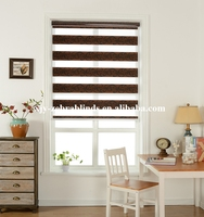 Golden silver yarns luxury jacquard roller blinds