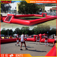 Road show Inflatable Street Soccer Cage, Inflatable Soccer field For Sale