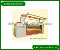 hologram seamless embossing machine for leather