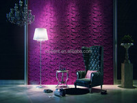 Plant fiber 3D beautiful wall panel manufacturer in China