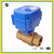 "CWX-15Q/N Motorized brass 3/8"" dn10 bsp ball valve"