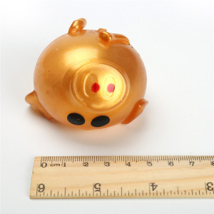 Anti stress Pig Toys Anti Stress Decompression Splat Ball Vent Toy Venting Ball Sticky Smash Water Ball