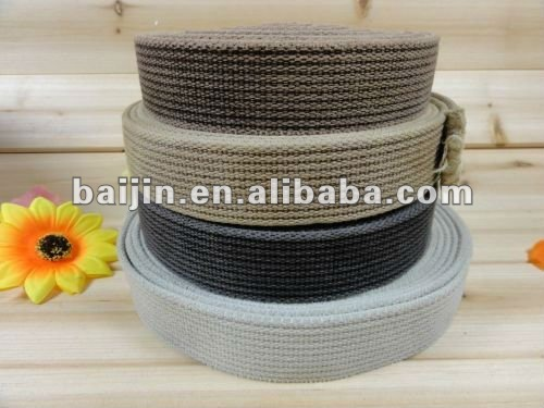 "1.5"" Rib Washed Vintage Webbing For Garment Accessories"