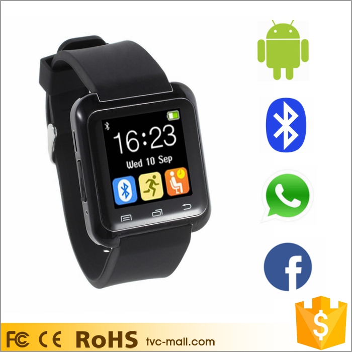 Touch Screen Sport Smartwatch Bluetooth U80 Smart Watch Android