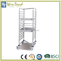 Cooking trays bread cart, custom brakery pan gastronorm rack trolley