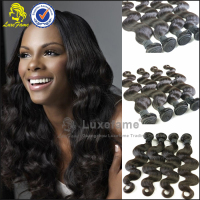 Full cuticle silky and soft easy to dye and bleach unprocessed wholesale virgin brazilian hair