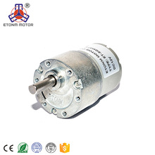 9V Low RPM DC Geared Motor with 37mm Gearbox