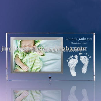 Unique Souvenirs for Crystal Baby Photo Frame