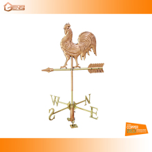 rooster copper weather vane