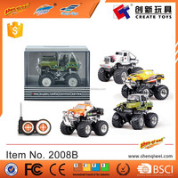 1:43 rc mini truck toy monster truck