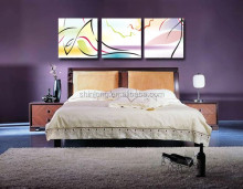 Geometric bedroom abstract wall decoration painting for bedroom , painting art