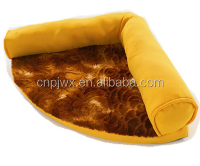 New degin Fan shape washable pet kennel sofa for dog and cat pet bed